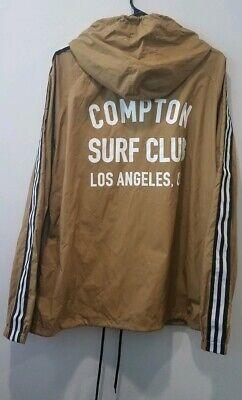 Matix Compton Surf Club CSC Men's Sz MEDIUM Black Hoodie Sweatshirt Los Angeles