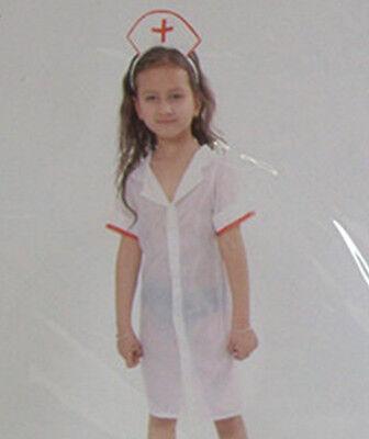 c461d945d92 BRAND NEW LITTLE Girls NURSE COSTUME Fancy Dress Birthday Costume | eBay