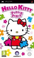 HELLO Kitty: Puzzle Party (PSP) PEGI rating: età 3 & Over Nuovo & Sigillato di fabbrica