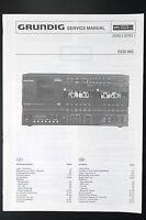 GRUNDIG CCD 300 Original Stereo System Service-Manual/Schaltplan/Diagram