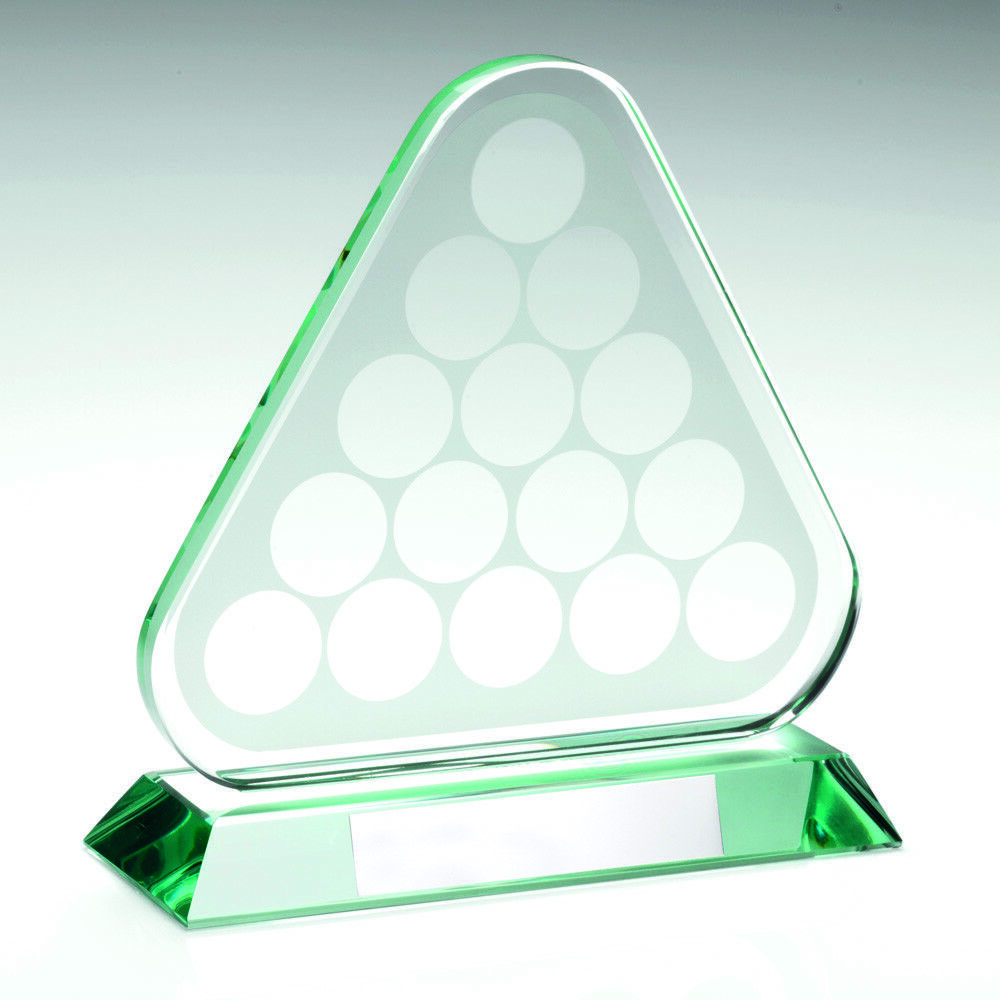 Pool Snooker Glass  Free Engraving up to 30 Letters