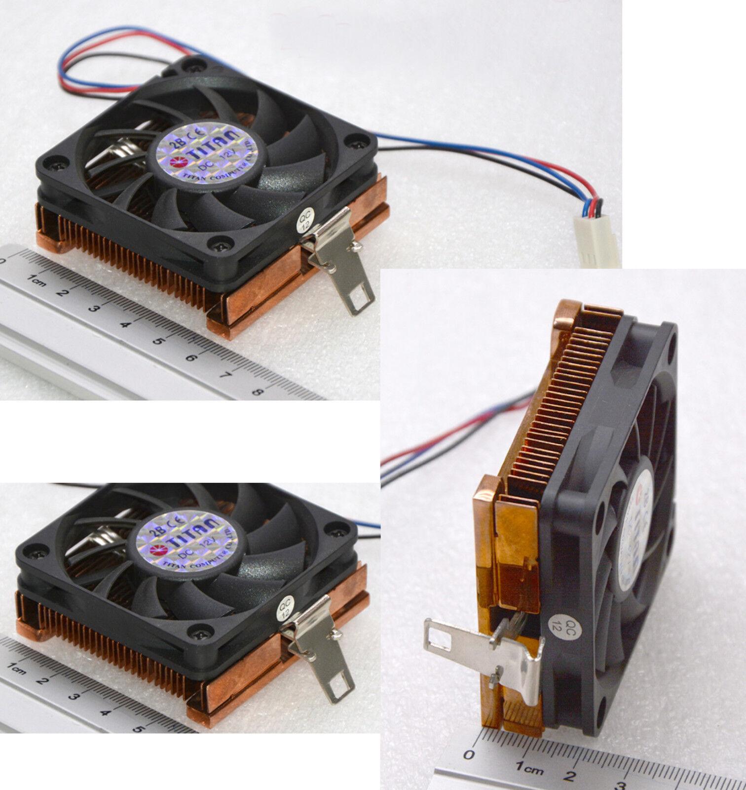 Cooper 60x60mm of solid copper cooler socket 370 pentium II 22mm flat