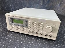 Wavetek Fluke 100 Mhz Synthesized Arbitrary Waveform Generator Model 395
