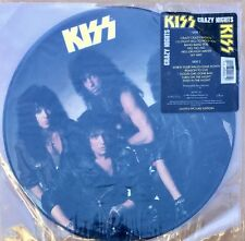 KISS Crazy Nights Picture Disc from 1987 LP Polygram Album