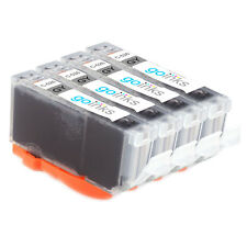 4 Grey Ink Cartridges for Canon Pixma MP980, MP990, MX860