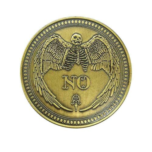 New Yes No Bronze Commemorative Coin Collection Gift Souvenir High quality L1S2