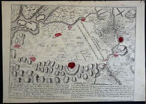 Nicolas-de-Fer-Plan-grave-Plan-des-troupes-de-Louis-XIV-Endigen-Kenzigen-1691