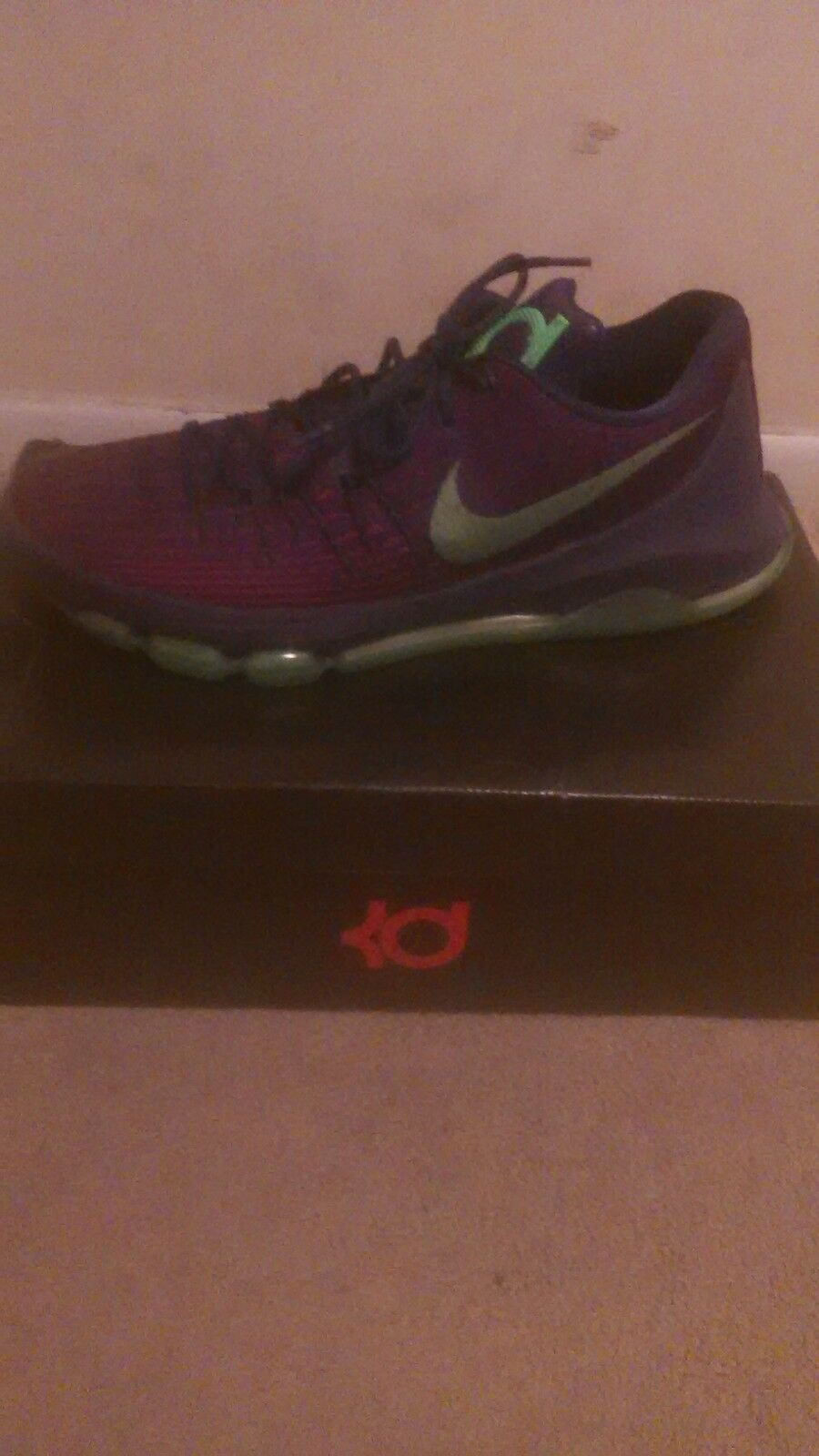 Kd 8s  Size 13 Purple Green