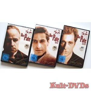 Der-Pate-1-2-3-I-II-III-3-DVD-Set-Al-Pacino-Marlon-Brando-Neu-OVP