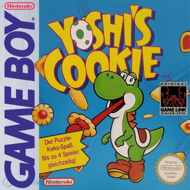 Nintendo GameBoy juego - Yoshi's Cookie en el embalaje usado COMO NUEVO