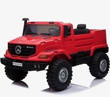 Licensed Mercedes-Benz Zetros Unimog 2 Seater 12V Ride-on Truck - 3 Colours