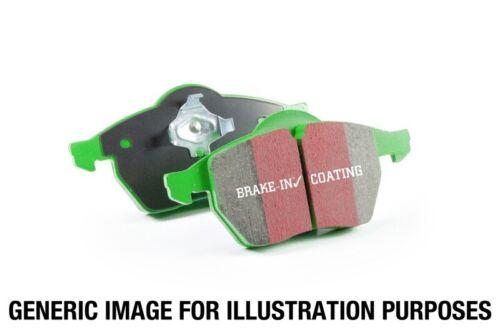 ebcDP21812 Lexus LS460 4.6 Greenstuff Rear Brake Pads EBC for 07