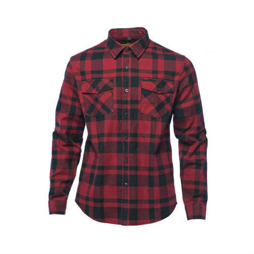 WEST COAST CHOPPERS AUSTIN FLANNEL SHIRT IN RED 100% GENUINE