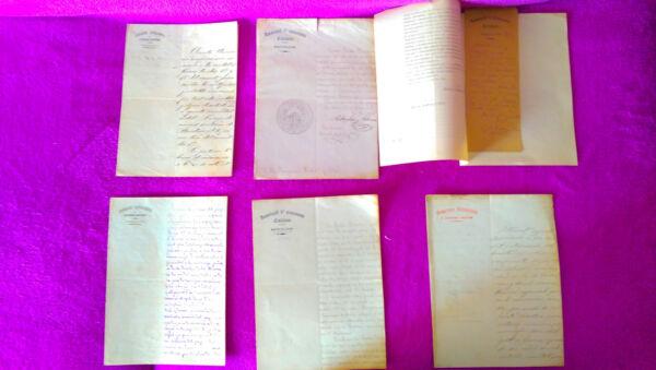 6 Manuscrits, Documents L'associació D'escursioni Catalana Scientifiche, Ditta