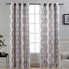 DriftAway Adrianne Thermal/Room Darkening Grommet Unlined Window Curtains, Set