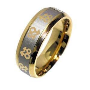 Gay Mens Wedding Ring Gay Pride Ring Stainless Steel Same Sex