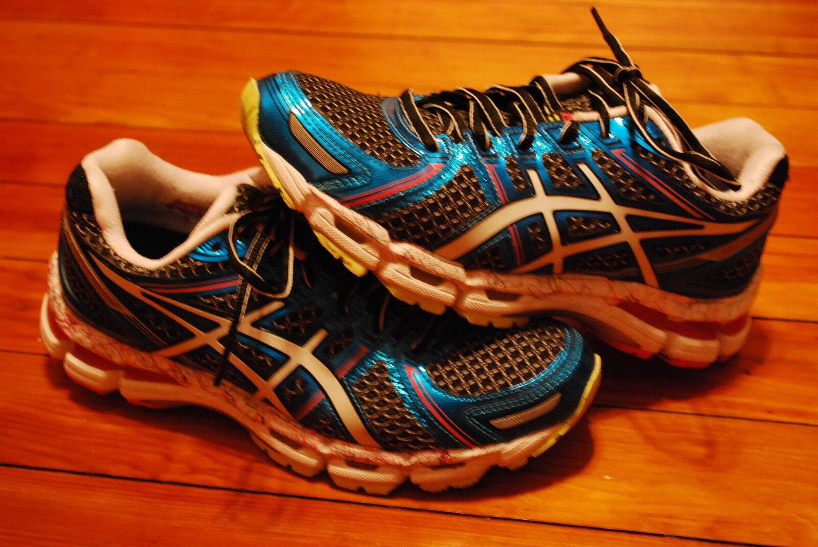 Women's Asics Gel Kayano 19 Aqua Running Sneaker (7)