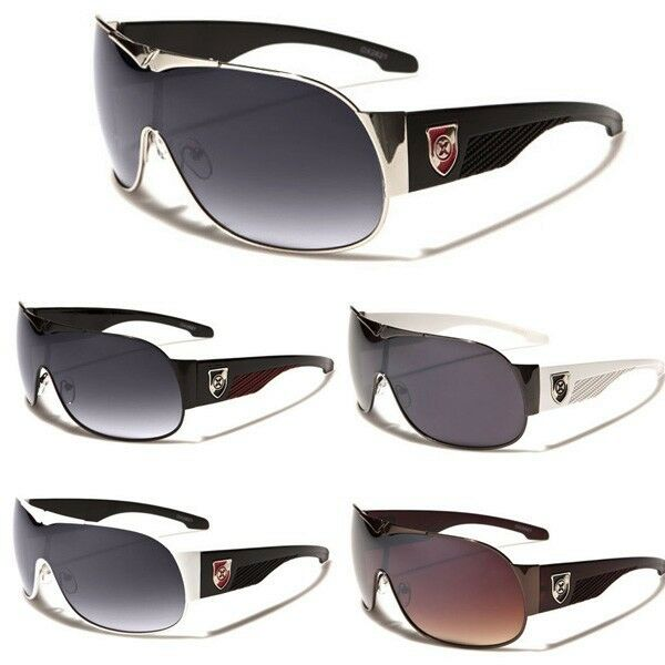 Oversized Men Women Fashion Round Aviator Sunglasses Black Silver Brown Glasses