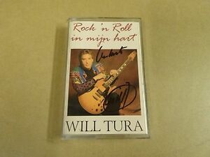 MUSIC-CASSETTE-WILL-TURA-ROCK-039-N-ROLL-IN-MIJN-HART