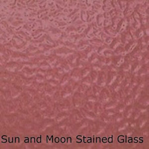ROSE English Muffle Stained Glass Sheet Wissmach Stained Glass Sheet EM50