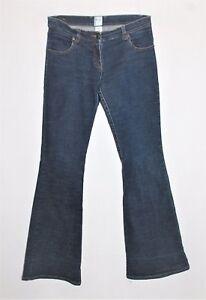 Sass Bide Brand Retro Blue Flared Leg Denim Jeans Size 10 Sj20 Ebay