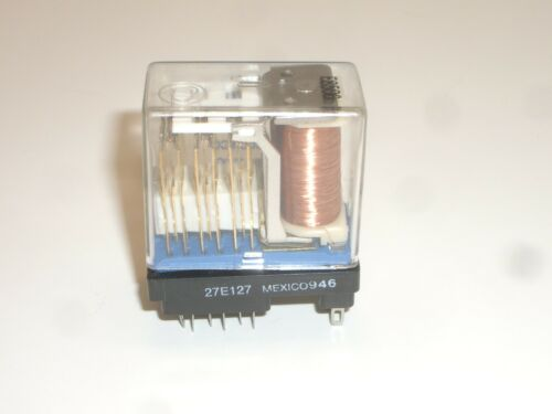 POTTER BRUMFIELD 27E127 22 PIN 6PDT RELAY SOCKET FOR Gould ALLIED T163 SERIES