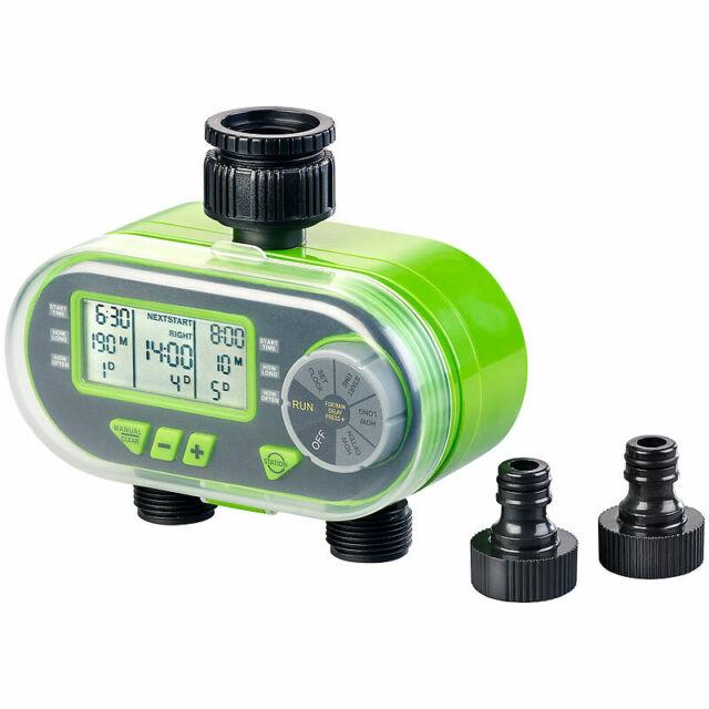 Digitaler Bewässerungscomputer BWC-200 mit 2 Anschlüssen /& Regensensor