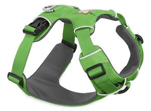 Ruffwear Front Range Dog Harness 30501/345 Meadow Green Updated 2017 model NEW