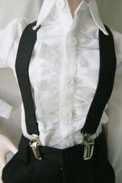 [wamami]15# Black Braces/Belt 1/3 SD17 SD DZ DOD BJD Dollfie