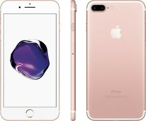 Details about Apple iPhone 7 Plus 128GB Rose Gold (Factory Unlocked) GSM +  CDMA Sealed
