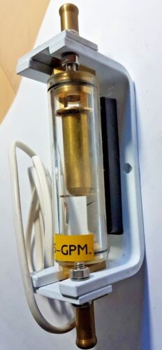 """0.5- GPM Industrial Water Flow Switch 1//2/""""  Induction-heating etc.."""