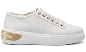 GEOX-RESPIRA-OTTAYA-D92BYA-scarpe-donna-sneakers-pelle-camoscio-zeppa-bianco