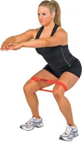 Resistance band LOOP Light//Med//Heavy Exercise Pilates Yoga Exercise Tubing RYG