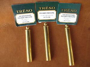 THREE-TRESO-Fixed-Black-Powder-Measure-1-2-034-100-110-125-grain-USA