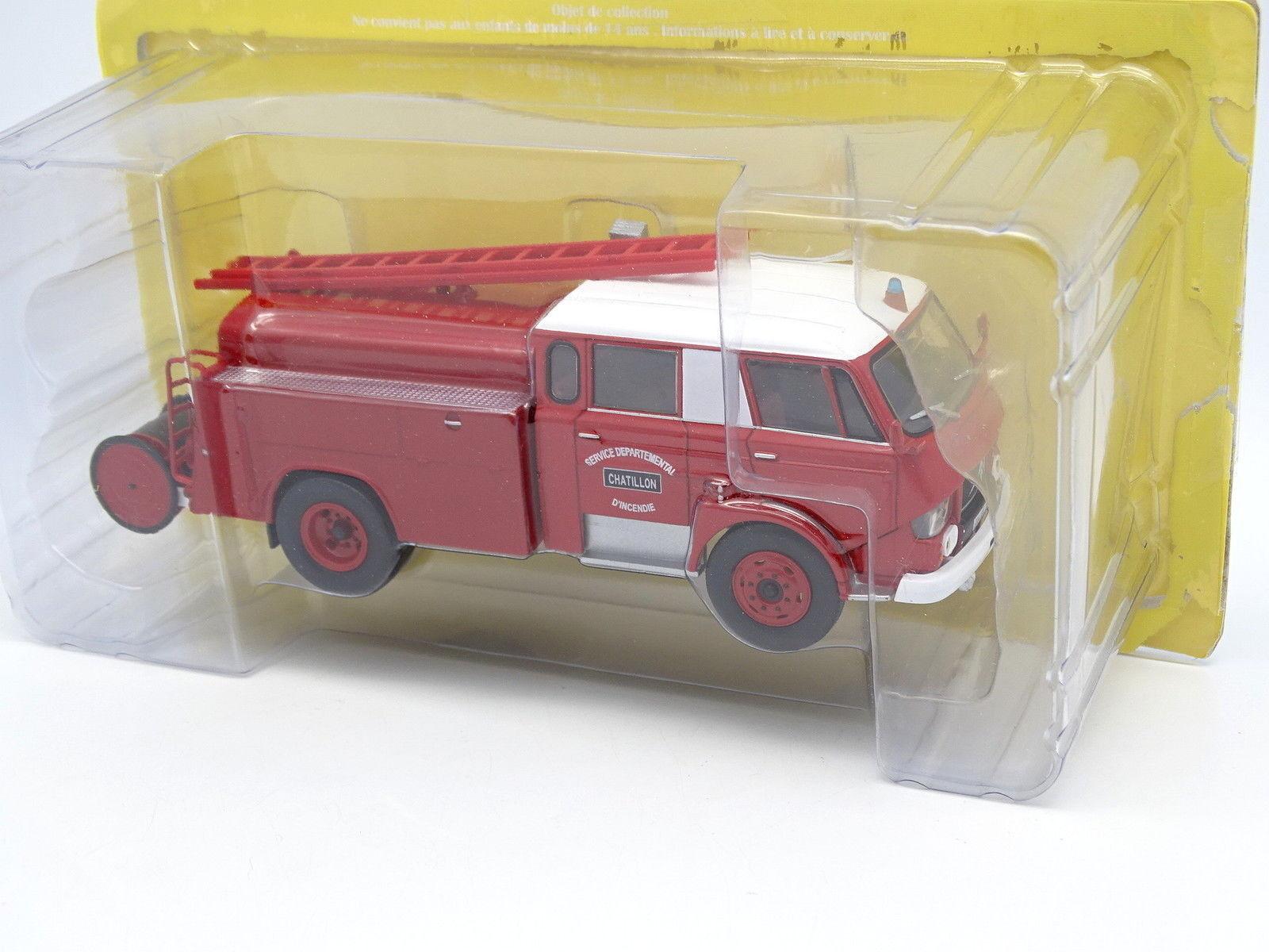 Ixo Presse Lastwagen Feuerwehr 1 43 - citroën Berliet Art PY Belphegor
