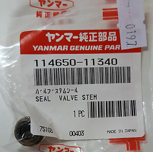 YANMAR-114650-11340-SEAL-VALVE-STEM
