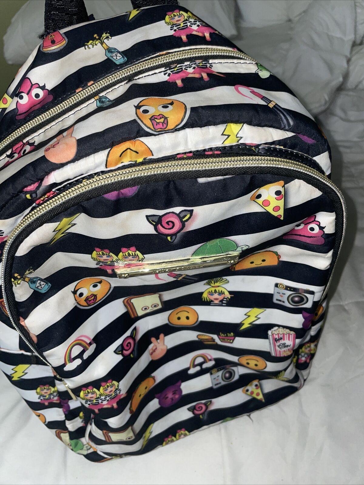 Beautiful Betsey Johnson Rocknroll Backpack - image 2