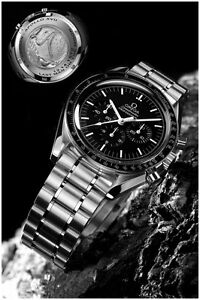 c76ada6c14d OMEGA Speedmaster Last Man on Moon Watch Poster Art Print 16