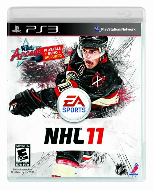 NHL 2011 PS3 Complete With Manual Free Shipping In Canada