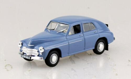 Warszawa M20 blau 1957 Blister 1:43 Ixo//Altaya Modellauto