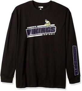 NFL Minnesota Vikings Men s Big   Tall Long Sleeve Graphic T Shirt ... 30c917e54