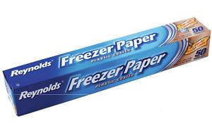 Costura Congelador de papel revestido de plástico Acolchado Arte Adorno Blanco