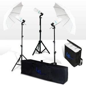 NEW-600W-Photo-Studio-Umbrella-Continuous-Lighting-Kit-f-Portrait-Photography