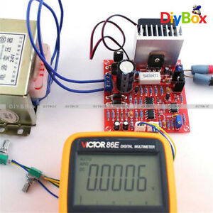 Red-0-30V-2mA-3A-Continuously-Adjustable-DC-Regulated-Power-Supply-DIY-Kit-PCB