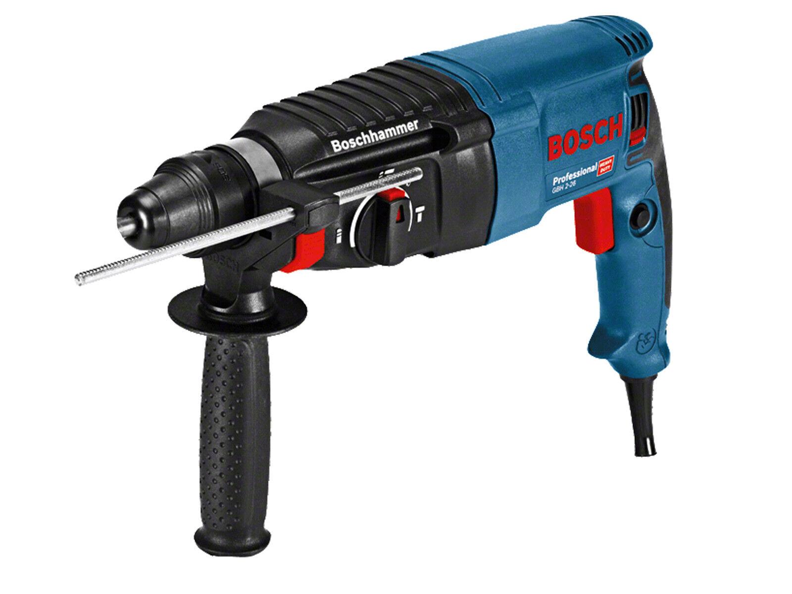 Bosch Professional Bohrhammer mit SDS+ GBH 2-26 SOLONetzbetrieben Meißelfunktion