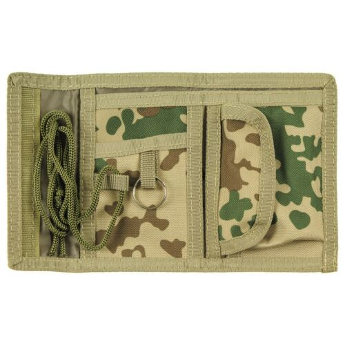 Nouveau coton Portefeuille Camouflage Tropical Avec Fermeture Velcro Armée Portefeuille
