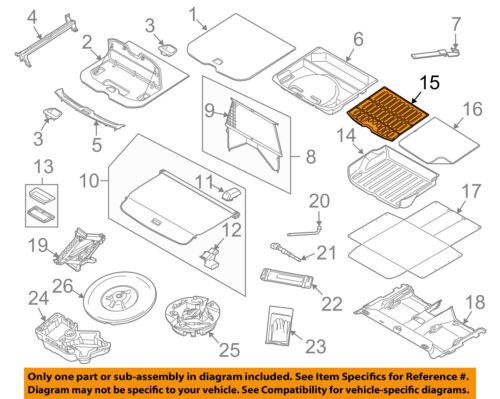 VOLVO OEM 10-17 XC60 Interior-Rear-Mat 39851597