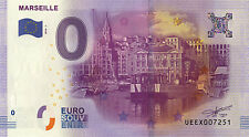 BILLET 2016 ZERO 0€ SOUVENIR MARSEILLE LE PORT NO JETON FRENCH BANKNOTE COINS