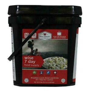 Wise-Foods-Ultimate-Emergency-Kit-7-Day-Food-Supply-Bucket-Camping-Pouches