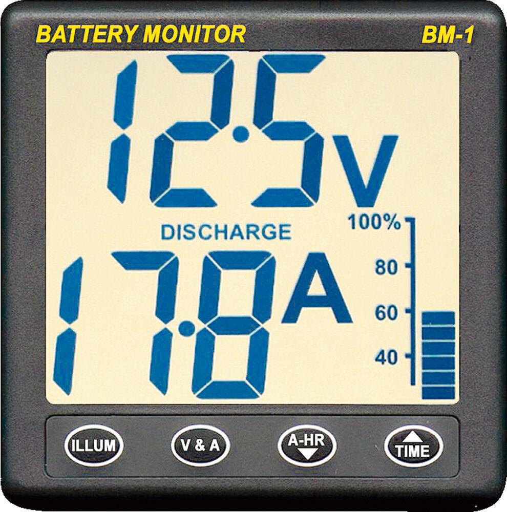 NASA Marine Batteriemonitor BM 1 Plus 12 V Batterieüberwachung Batteriespannung